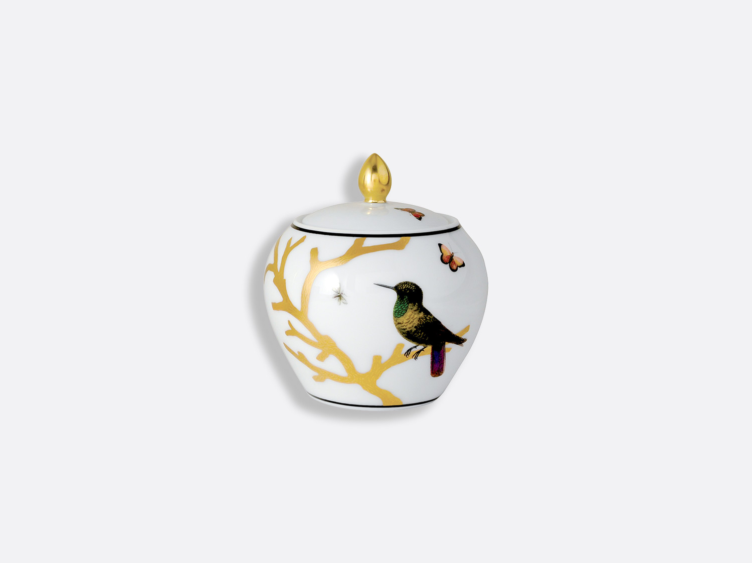 China Sugar bowl 12 cups 10 oz of the collection Aux oiseaux | Bernardaud