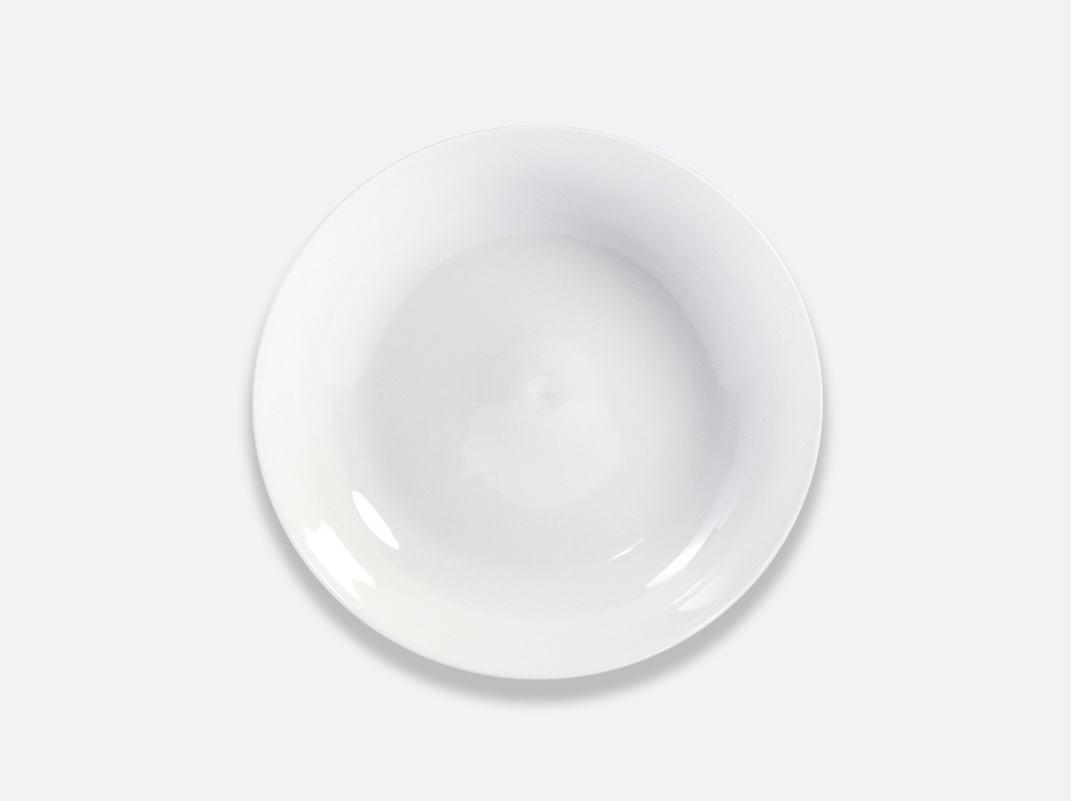 Assiette coupe 21,5 cm en porcelaine de la collection Bulle Bernardaud