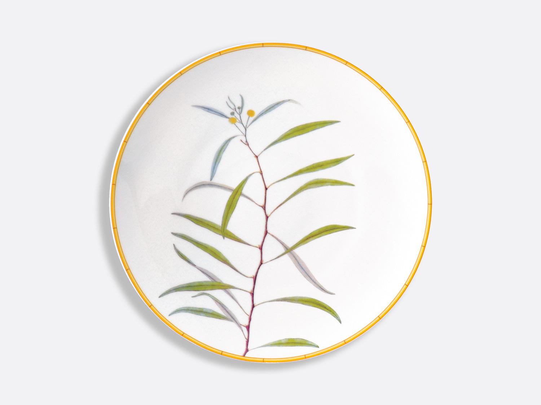 Assiette à dîner 27 cm en porcelaine de la collection Jardin indien Bernardaud