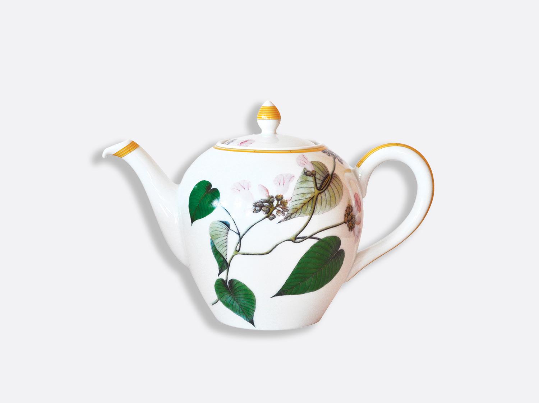 Théière 12 tasses 1,25 L en porcelaine de la collection Jardin indien Bernardaud