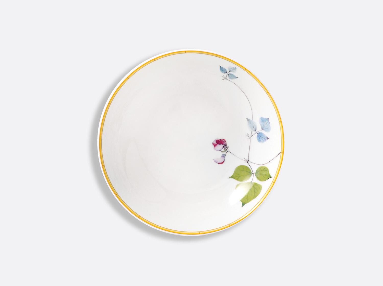 Assiette creuse 19 cm en porcelaine de la collection Jardin indien Bernardaud