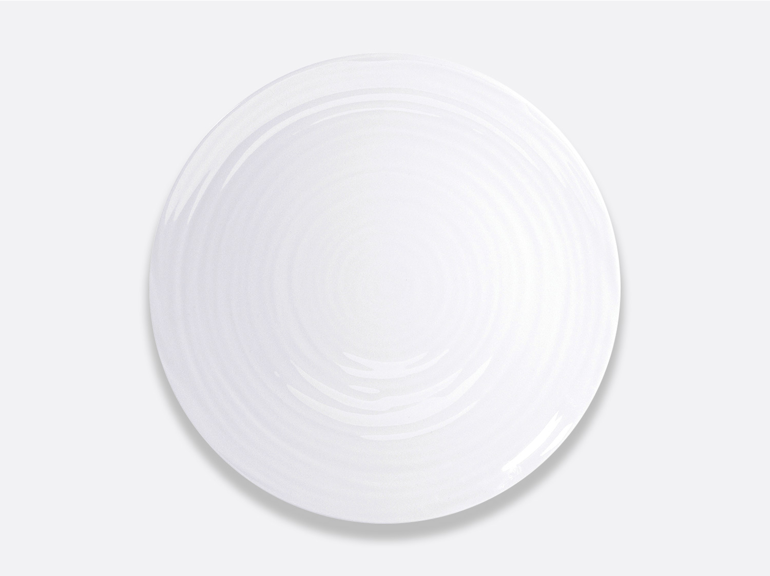 Assiette coupe 31 cm en porcelaine de la collection Origine Bernardaud