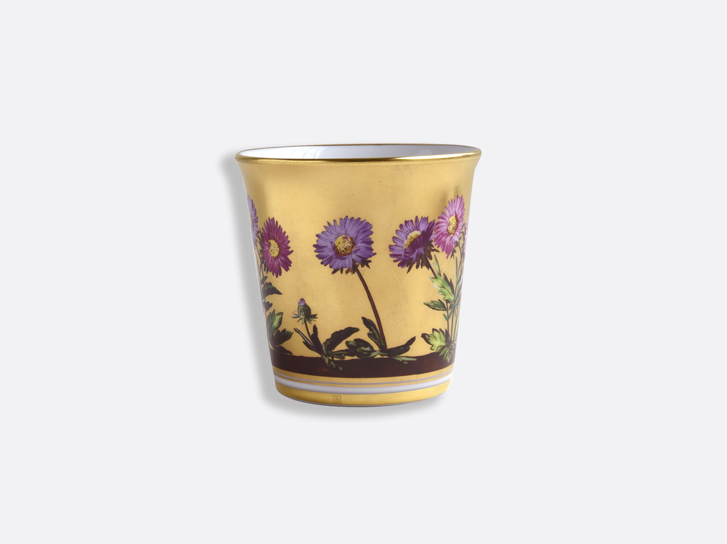 Pot 9 cm + bougie parfumée 200g en porcelaine de la collection Heloise Bernardaud