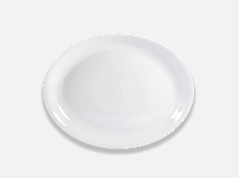 Plat ovale 33 cm en porcelaine de la collection Bulle Bernardaud