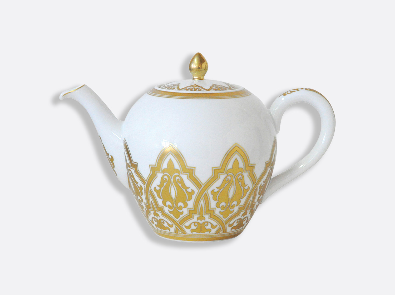 Théière 12 tasses 1,25 L en porcelaine de la collection Venise Bernardaud
