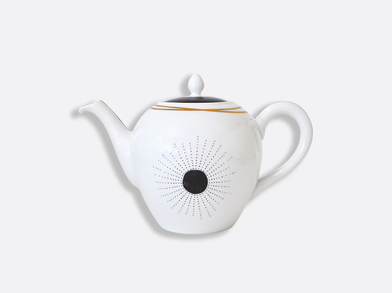 China Teapot 12 cups of the collection Aboro | Bernardaud