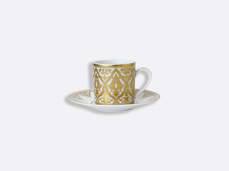 Tasse et soucoupe à café en porcelaine de la collection Venise Bernardaud
