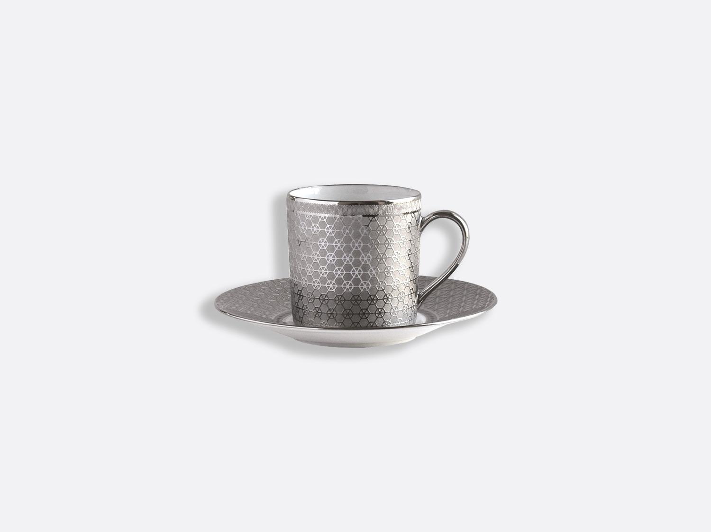 Tasse et soucoupe à café 8 cl en porcelaine de la collection Divine Bernardaud