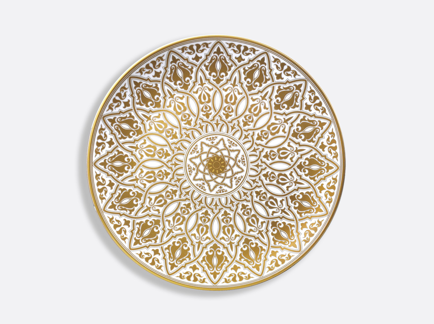Plat à tarte 32 cm en porcelaine de la collection Venise Bernardaud