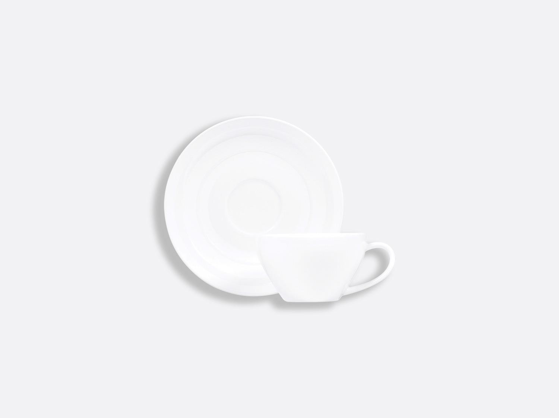 Tasse et soucoupe café 8 cl en porcelaine de la collection Neve Bernardaud
