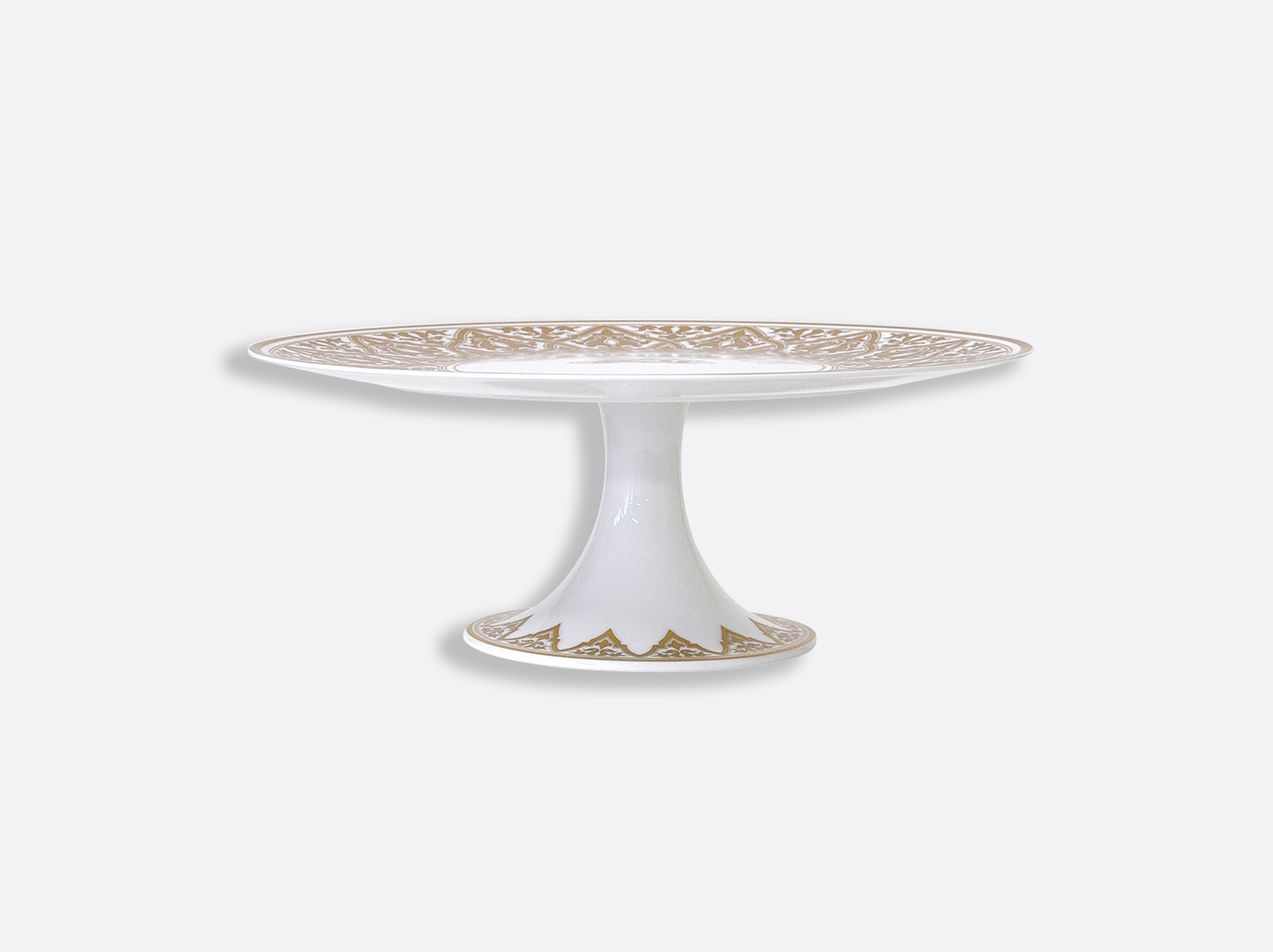 China Footed cake platter of the collection Venise | Bernardaud