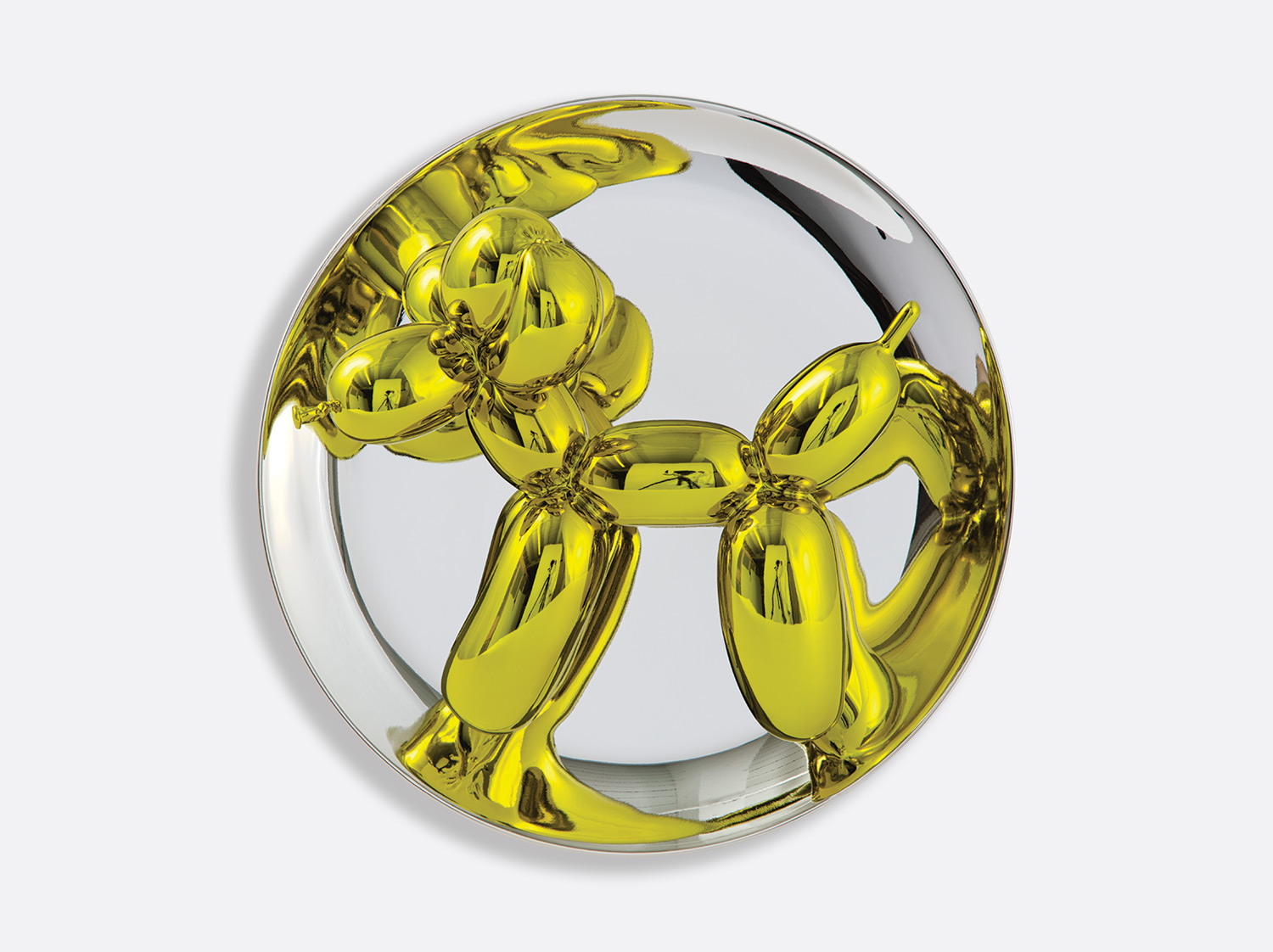 China Balloon dog (yellow) 26,7 cm of the collection Balloon dog (yellow) | Bernardaud