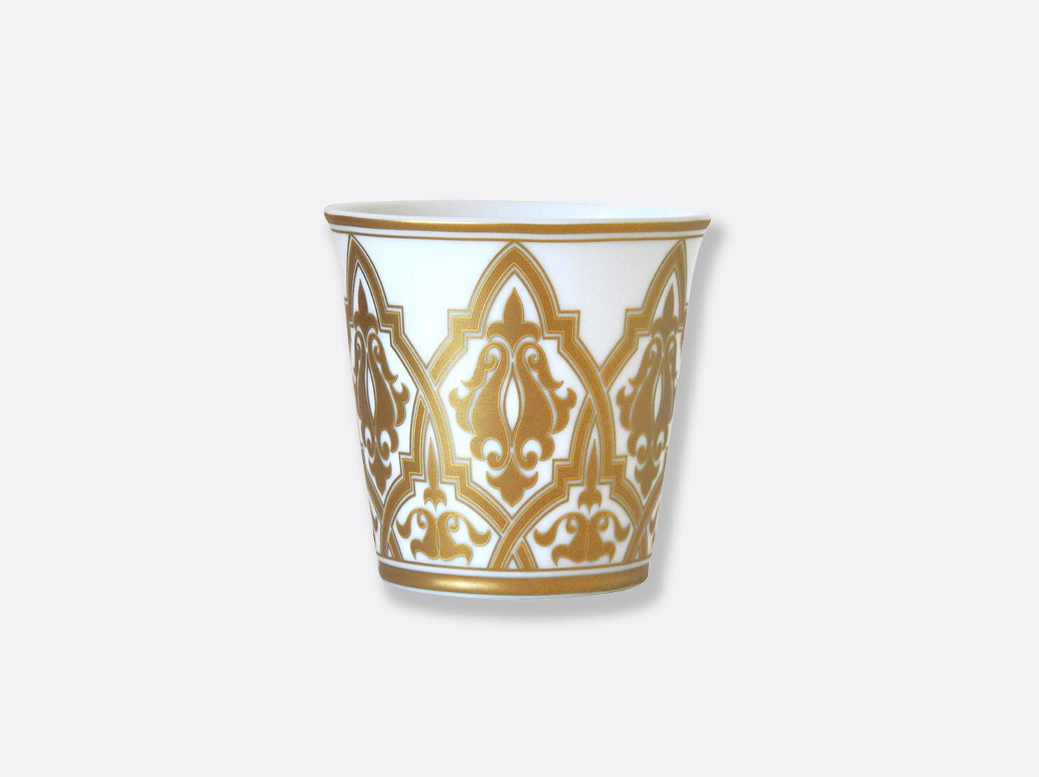Pot 9 cm + bougie parfumée 200g en porcelaine de la collection Venise Bernardaud