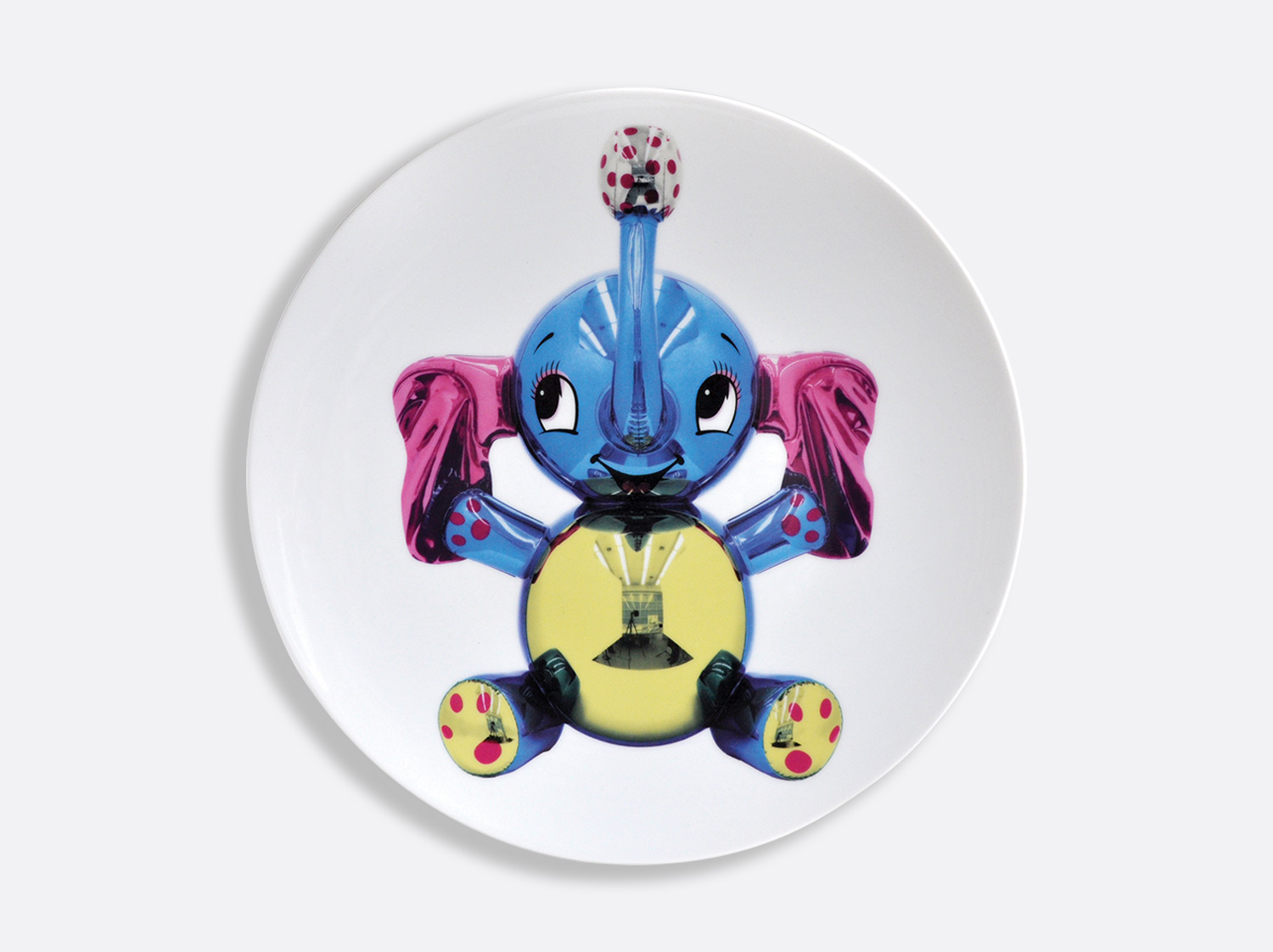 China Coupe service plate 31 cm of the collection Elephant | Bernardaud