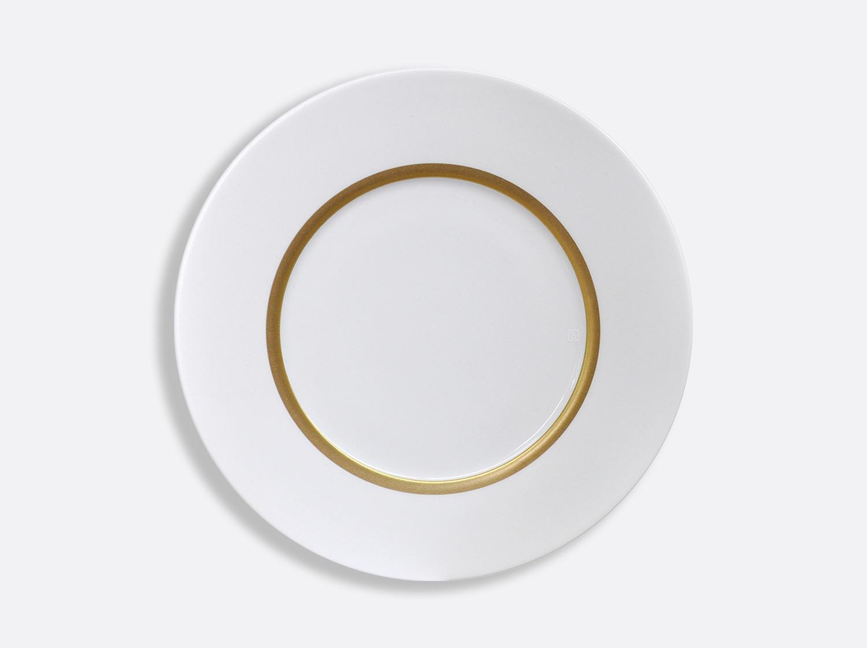 Assiette Astre 27 cm en porcelaine de la collection Cronos or Bernardaud