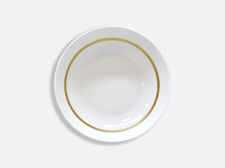 Assiette creuse calotte 18,5 cm en porcelaine de la collection Cronos or Bernardaud