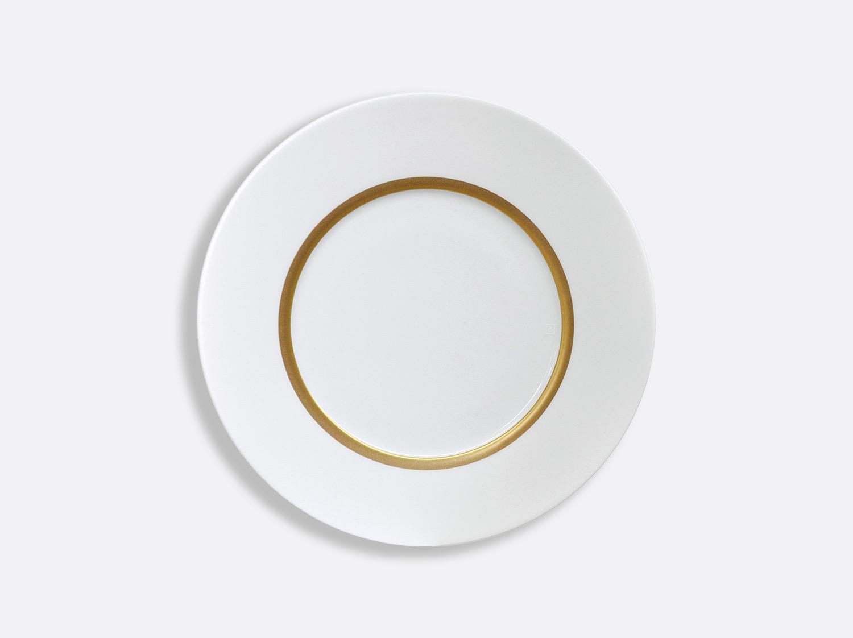 Assiette Astre 21 cm en porcelaine de la collection Cronos or Bernardaud