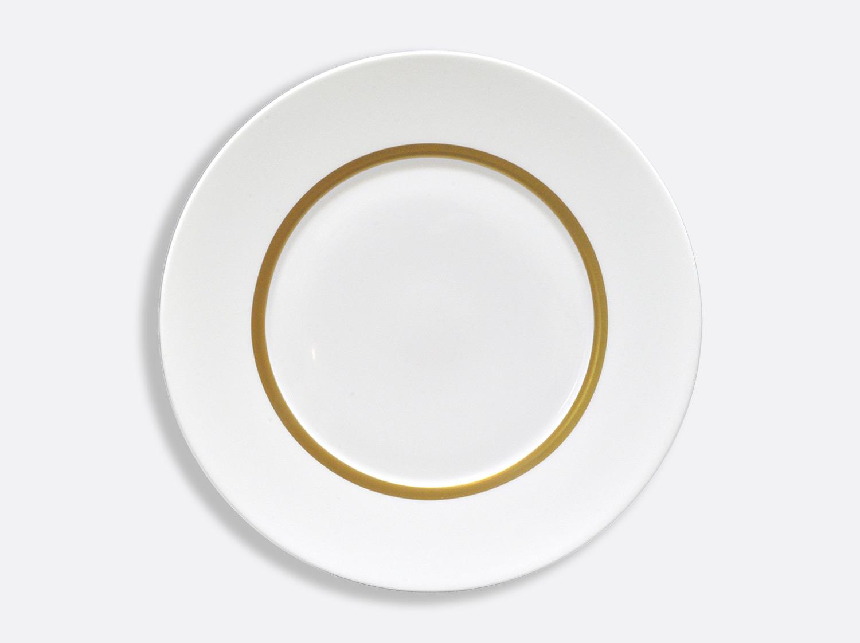 Assiette Astre 31,5 cm en porcelaine de la collection Cronos or Bernardaud
