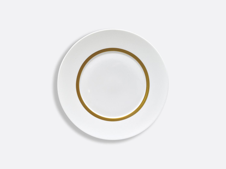 Assiette Astre 16 cm en porcelaine de la collection Cronos or Bernardaud