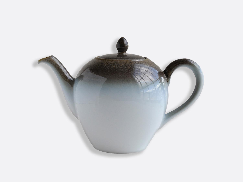 Théière 12 tasses 1 L en porcelaine de la collection IRIS TAUPE Bernardaud