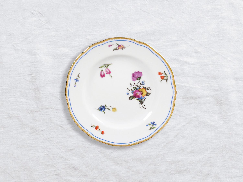 Assiette à pain 16 cm en porcelaine de la collection A la reine Bernardaud