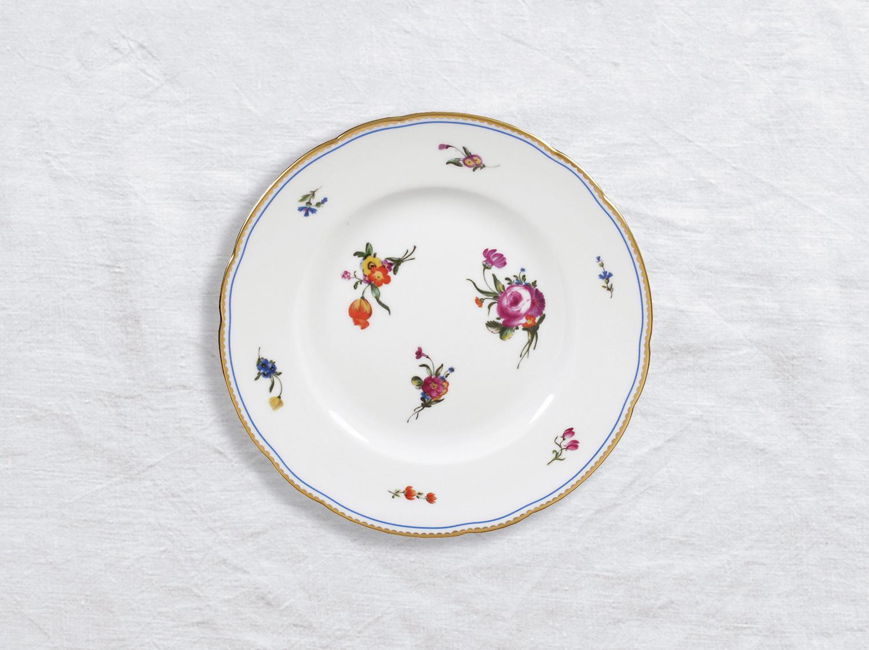 Assiette à dessert 21 cm en porcelaine de la collection A la reine Bernardaud