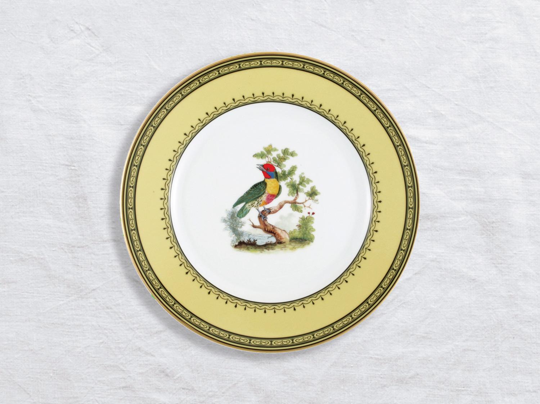 Assiette à dessert Barbu de Maynas 21 cm en porcelaine de la collection Barbu de maynas Bernardaud