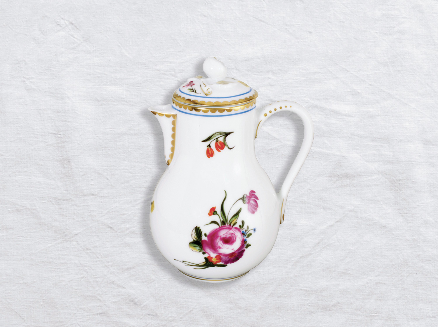 Pot à crème 6 tasses en porcelaine de la collection A la reine Bernardaud