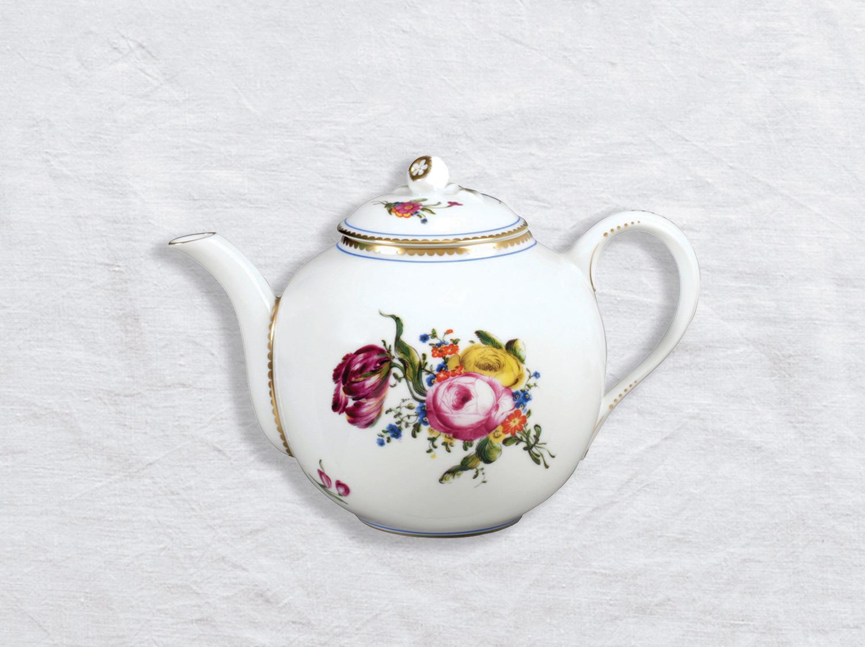 Verseuse basse 12 tasses 1,1 L en porcelaine de la collection A la reine Bernardaud