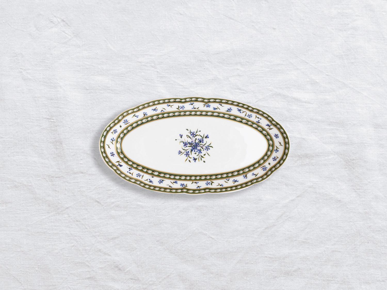 Ravier 21 x 15 cm en porcelaine de la collection Marie-antoinette Bernardaud