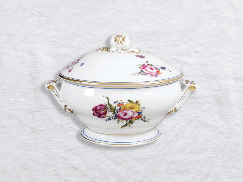 Pot à oilles (soupière) 2,2 L en porcelaine de la collection A la reine Bernardaud