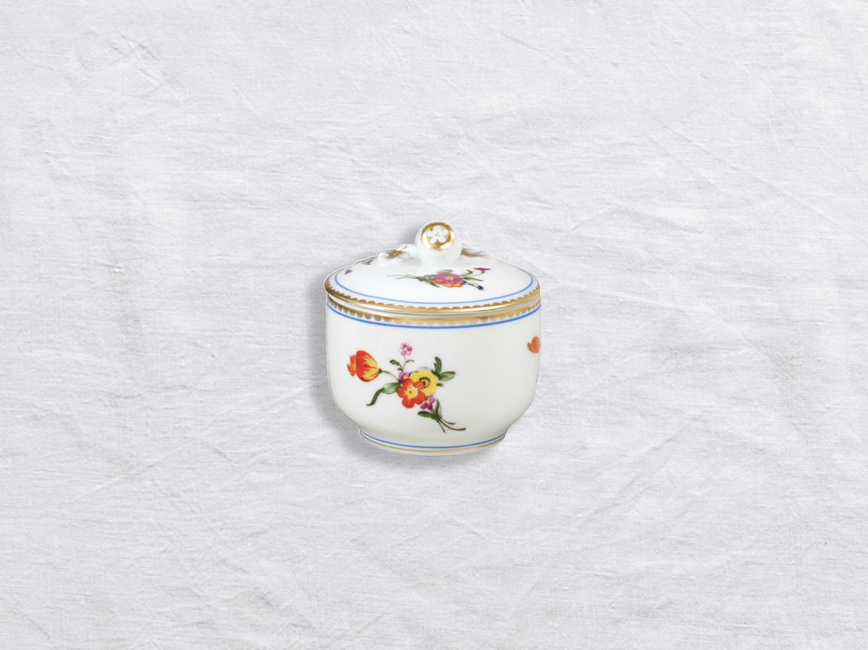 Pot à sucre 2 tasses en porcelaine de la collection A la reine Bernardaud