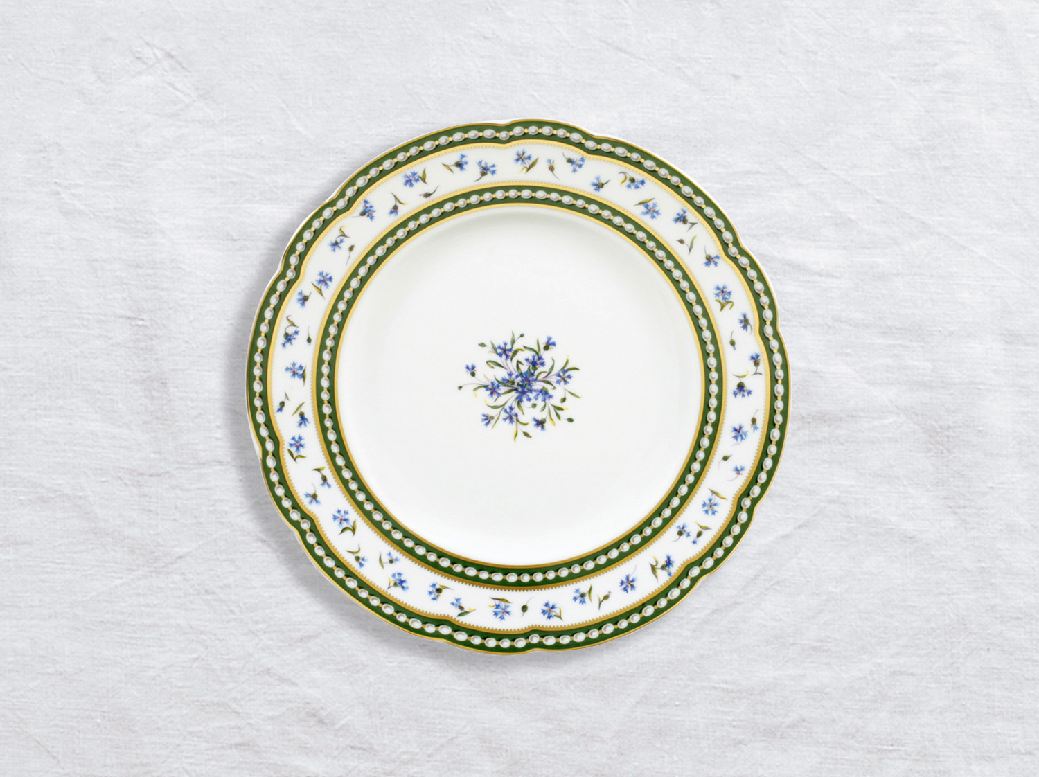 China Salad plate 21 cm of the collection Marie-antoinette | Bernardaud