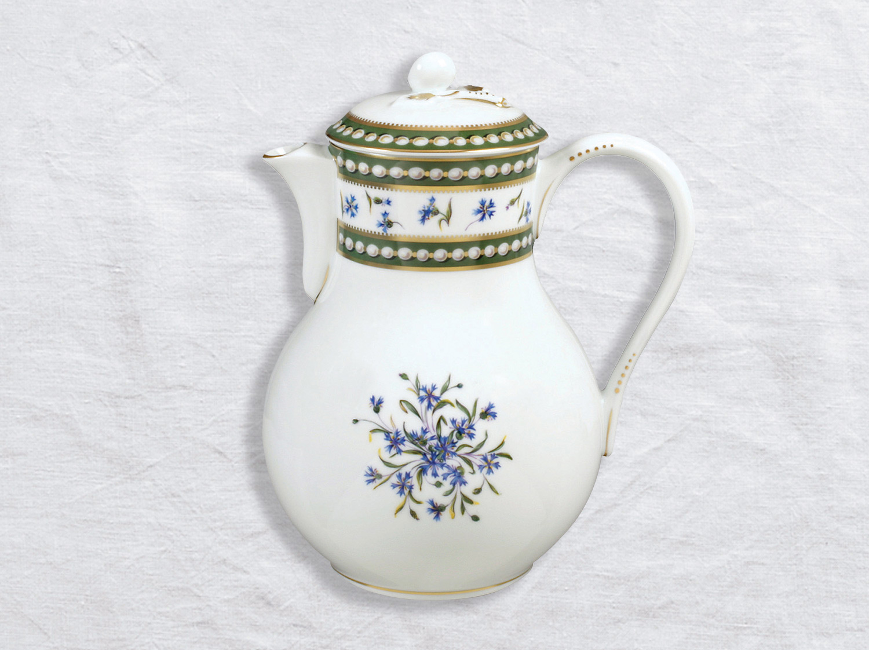Verseuse haute 12 tasses 1,4 L en porcelaine de la collection Marie-antoinette Bernardaud