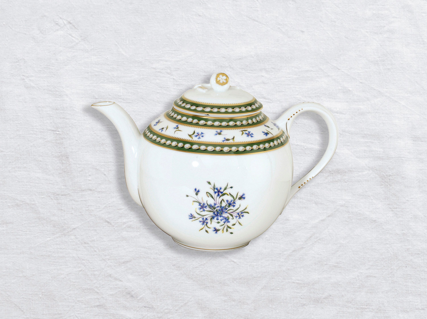 Verseuse basse 12 tasses 1,1 L en porcelaine de la collection Marie-antoinette Bernardaud