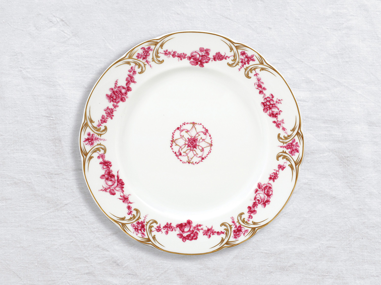 Assiette à dîner 26 cm en porcelaine de la collection Louis xv Bernardaud