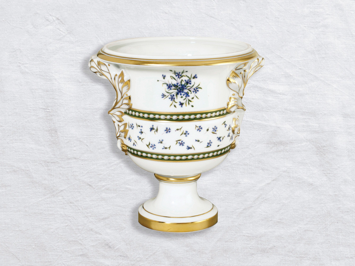 Vase Medicis en porcelaine de la collection Marie-antoinette Bernardaud