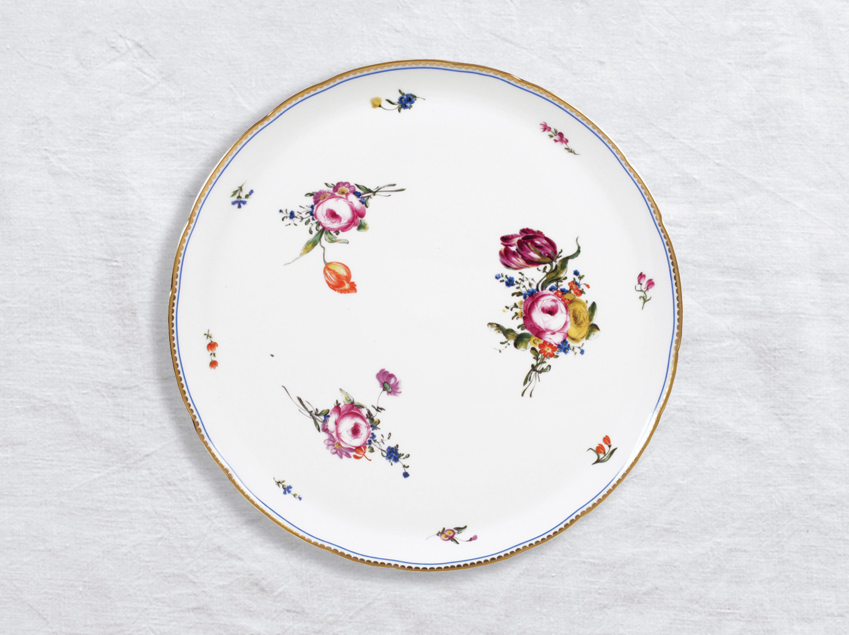 Plat à tarte 32 cm en porcelaine de la collection A la reine Bernardaud