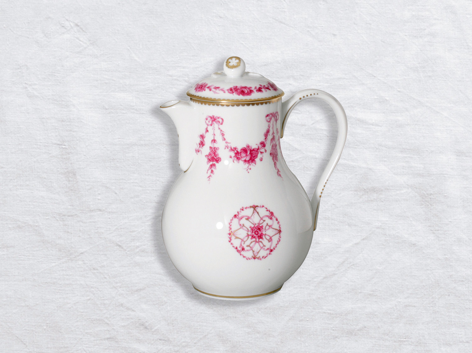 Verseuse haute 12 tasses 1,4 L en porcelaine de la collection Louis xv Bernardaud