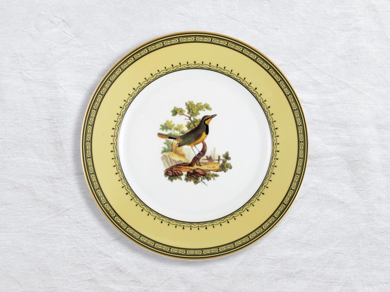 Assiette à dîner Merle collier cap bonne espera. 26 cm en porcelaine de la collection Merle collier cap bonne espera Bernardaud