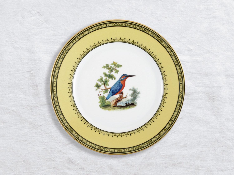 Assiette à dîner Martin pêcheur 26 cm en porcelaine de la collection Martin pecheur Bernardaud