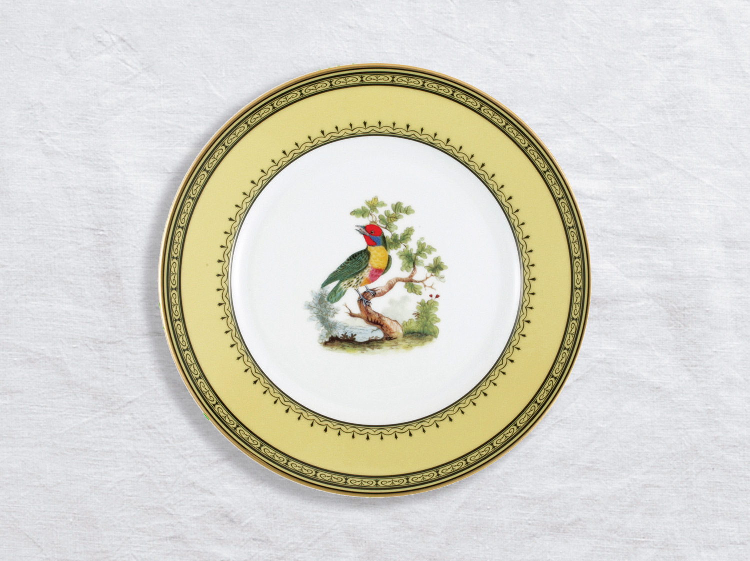 Assiette à dîner Barbu de Maynas 26 cm en porcelaine de la collection Barbu de maynas Bernardaud