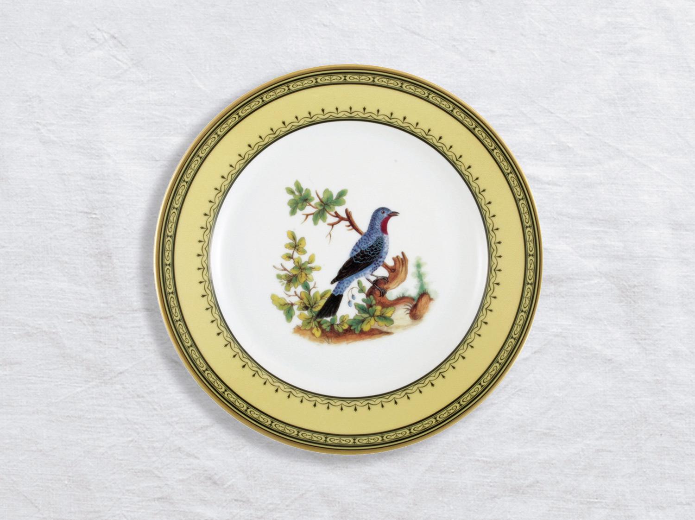 Assiette à dîner Cotinga de Cayenne 26 cm en porcelaine de la collection Cotinga de cayenne Bernardaud