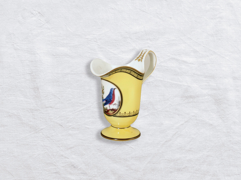 China Creamer 6 cups of the collection Empire oiseaux de buffon collection | Bernardaud