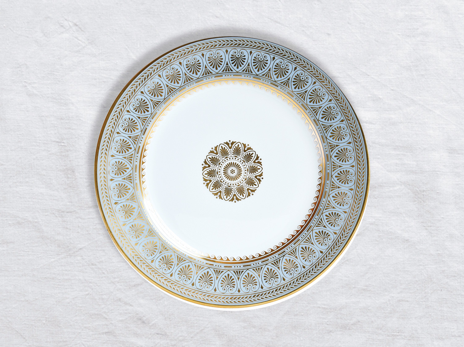 Assiette à dîner 26 cm en porcelaine de la collection Elysee Bernardaud