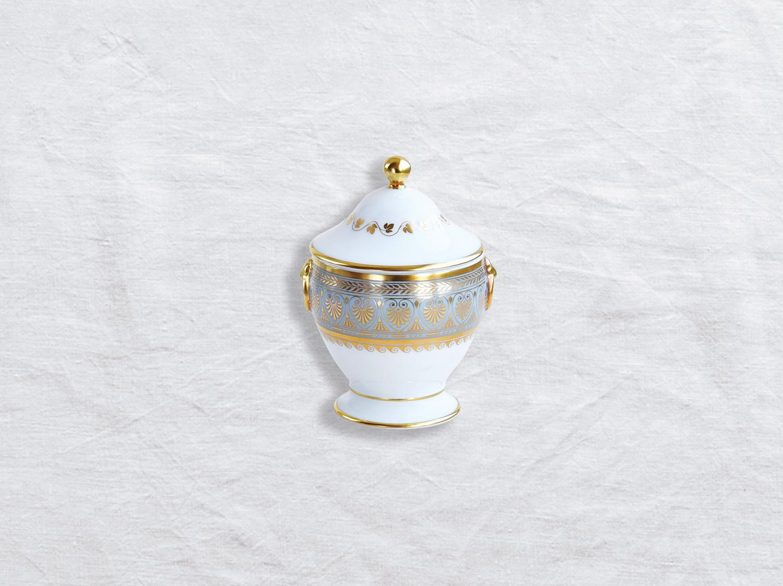 Sucrier 6 tasses en porcelaine de la collection Elysee Bernardaud