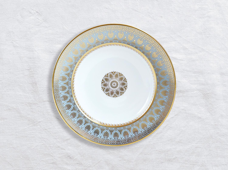 Assiette creuse à aile 22,5 cm en porcelaine de la collection Elysee Bernardaud