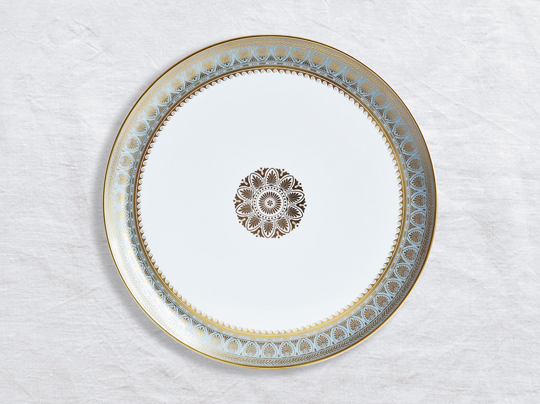 Plat à tarte 32 cm en porcelaine de la collection Elysee Bernardaud