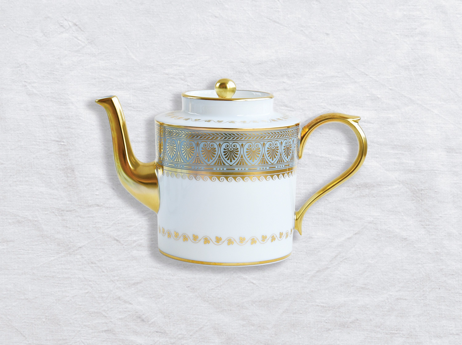 Théière 6 tasses en porcelaine de la collection Elysee Bernardaud