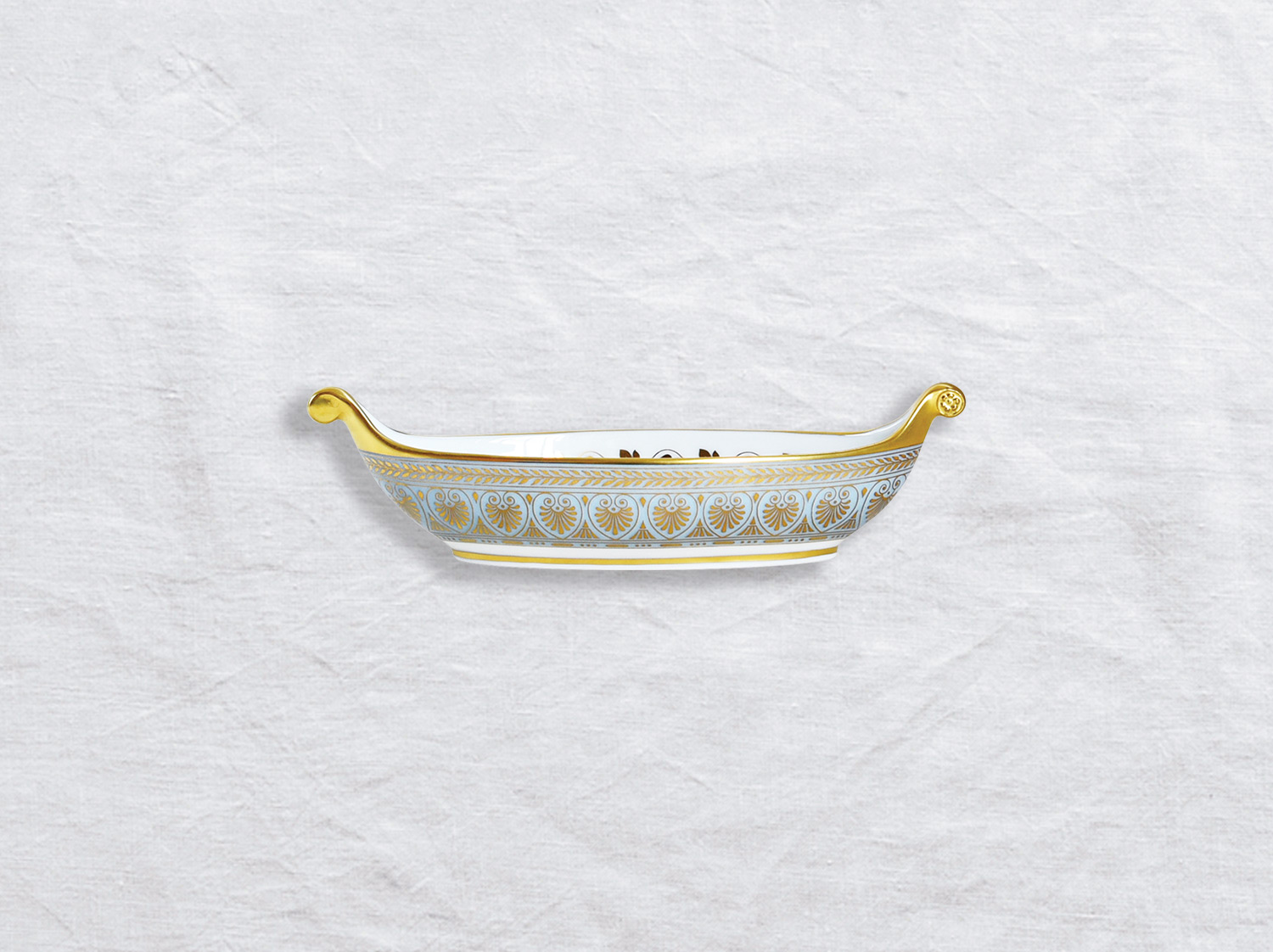 Navette PM en porcelaine de la collection Elysee Bernardaud